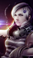 Sunny Emmerich from Metal Gear Rising