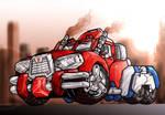 Optimus Prime Concept Convoy
