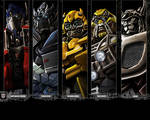 Autobot portraits by dylanliwanag