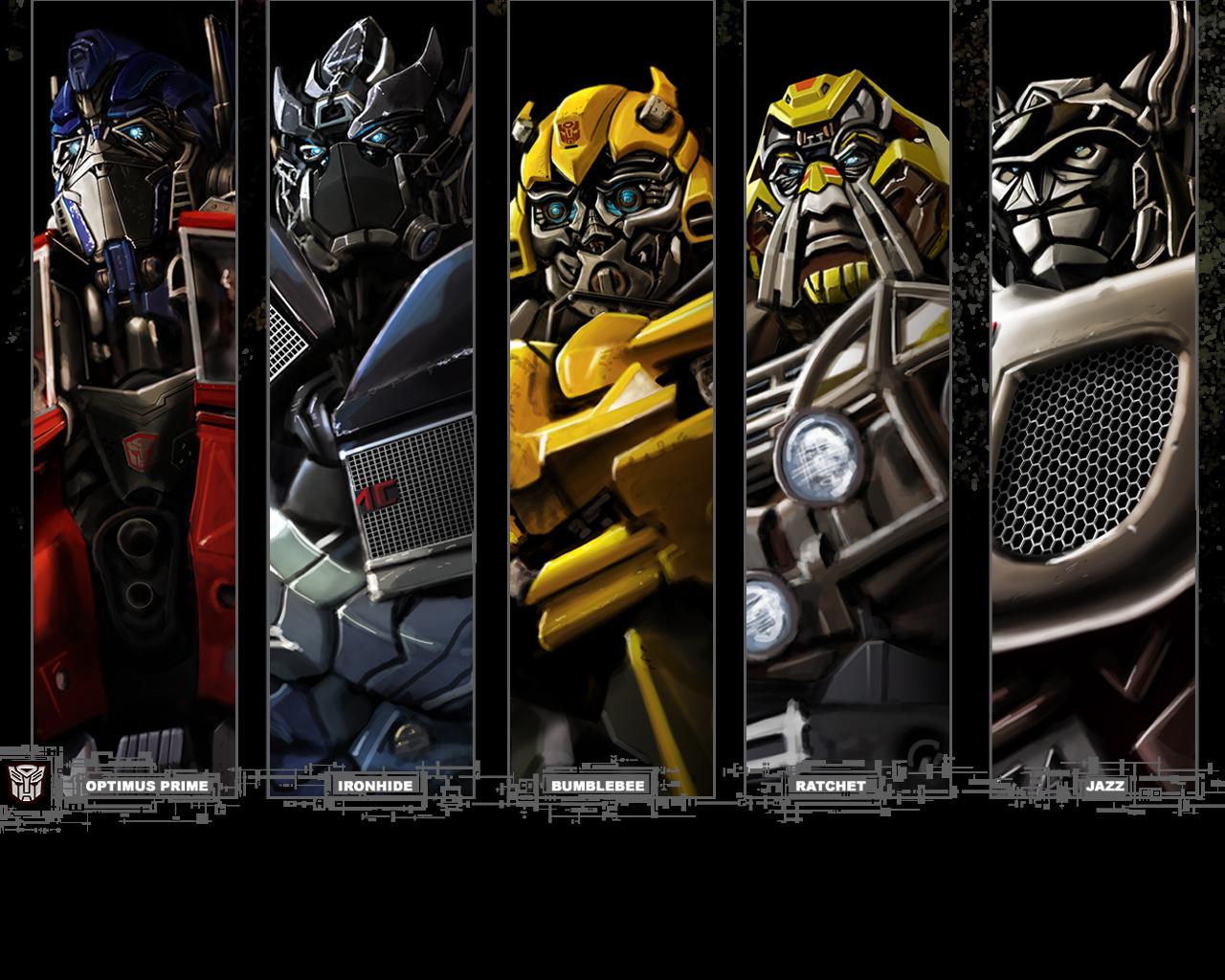 Autobot portraits