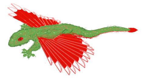 Butterfly gecko by FanboyPhilosopher