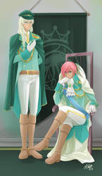 AQ: Military AU - Sinan and Khaleel by lily-kat