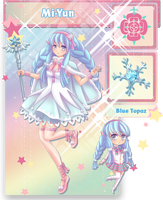 HK: Magical Girl Mi-Yun by lily-kat