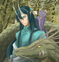 Kuraokami by lily-kat