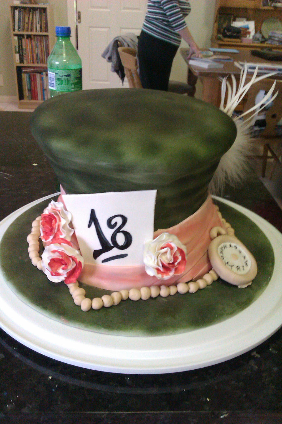 Alice in Wonderland Hat Cakes in Wonderland Hat Cake by