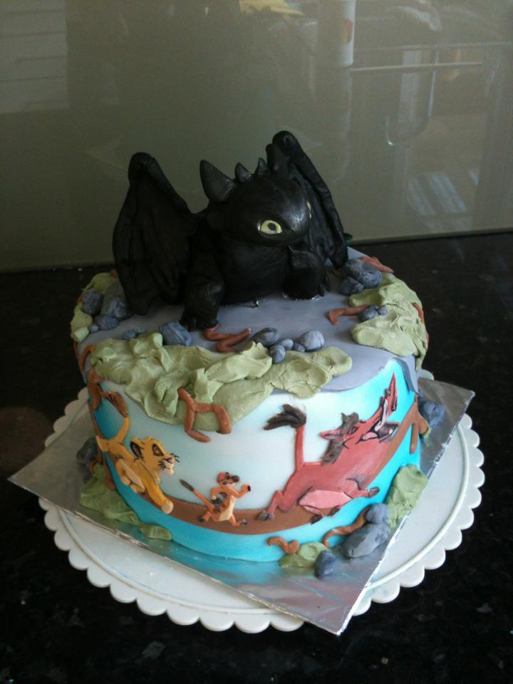 Disney Cake by charlie-d33 on DeviantArt