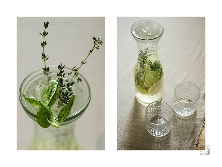 Zitronen-Thymian-Wasser by lichtfaengerin