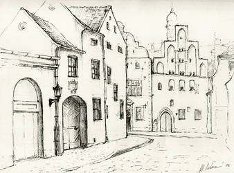 Old City by m-gnomik