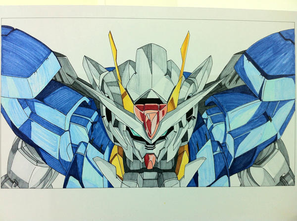 Gundam Exia by Irimalor