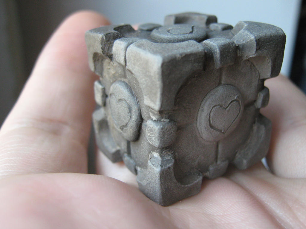 The Portable Companion Cube by allaboutnothing