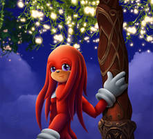Knuckles Bday 2013 by Coraleana