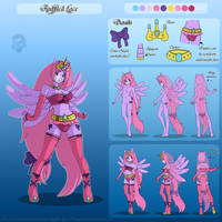 Ruffled Lace Ref Sheet .:PC:. by Coraleana