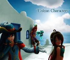 Enlean Characters by Coraleana