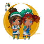 Chibi Maids