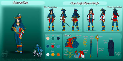 Marcus Class Ref by Coraleana