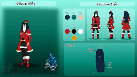 Marcus Christmas Ref by Coraleana