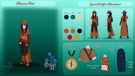 Marcus Special Ref by Coraleana