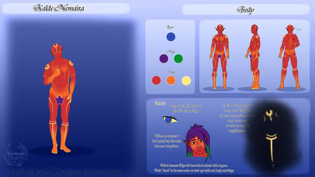 Kalde Body Ref by Coraleana