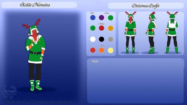 Kalde Christmas Ref by Coraleana