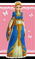 The lovely Zelda by Coraleana