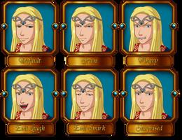 Lord Runa Expressions by Coraleana