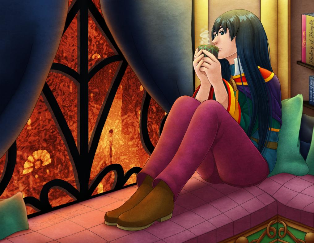 tea time by Coraleana