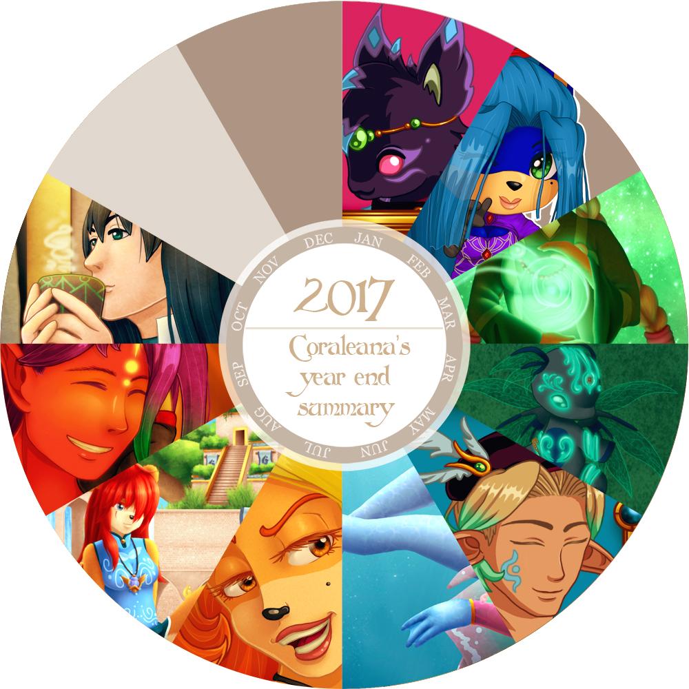 2017 Art Summary by Coraleana