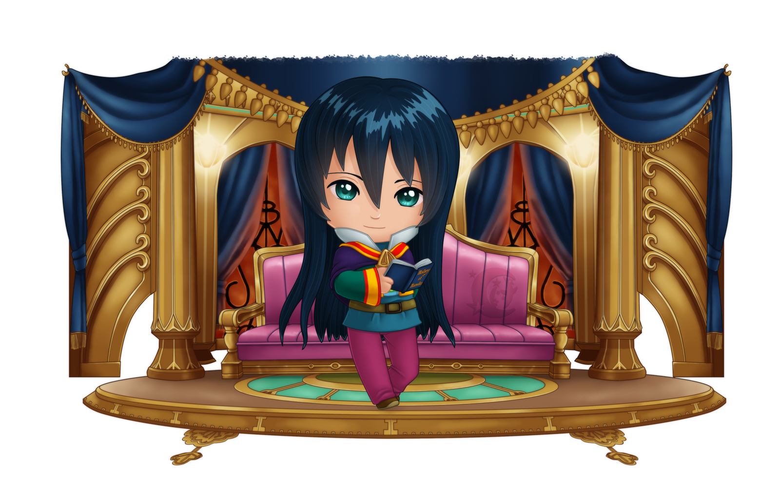Chibi Prince Marcassin by Coraleana