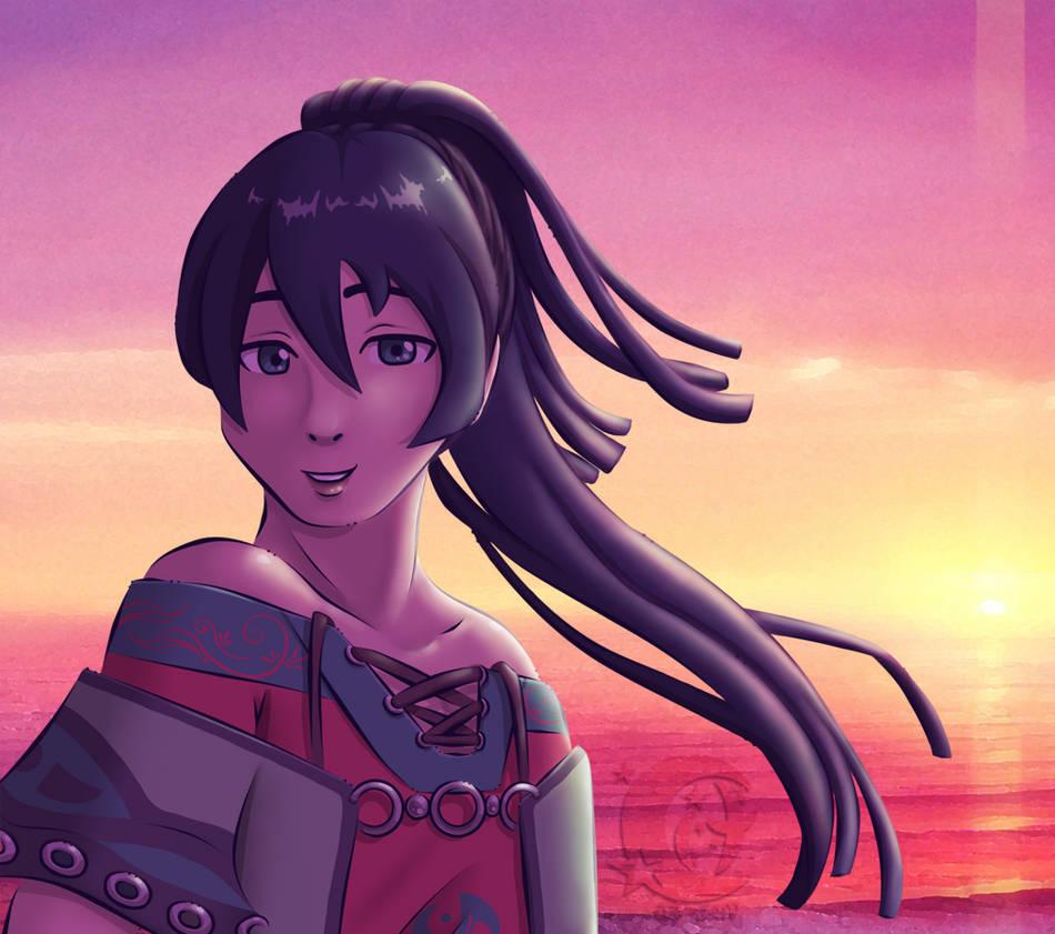 Sunset by Coraleana