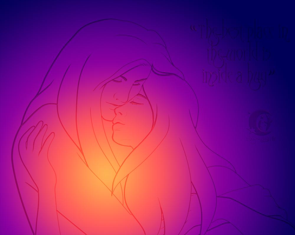 Project Love 4: Hug by Coraleana
