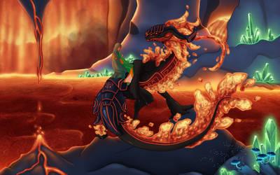 Ancient Guardian of Fire Orinda