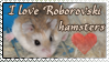 Roborovski Hamster stamp by Coraleana