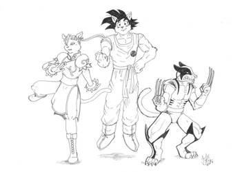 Fan Art - personajes 1 by JuanAtoq