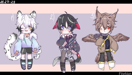 Adopt auction(open 3/3)