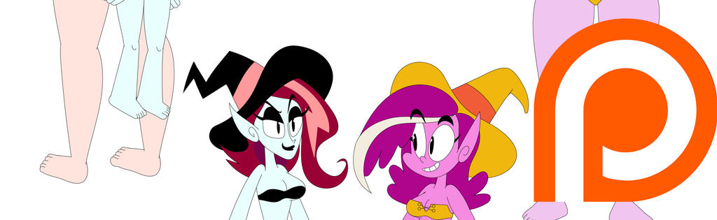 Mighty Magiswords Fusion Witchy Morbidia assets by Jackurai