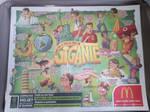 Giant/Giantess Themed MacDonald's Placemat