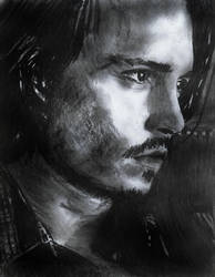 Johnny Depp by lavendershards