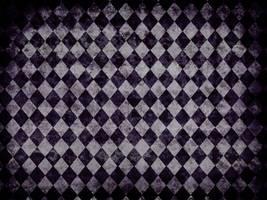 Diamond - Purple and White