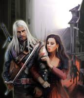 The Witcher by Nereika
