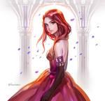 Study: Red dress
