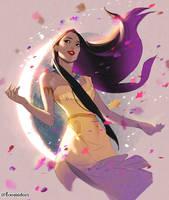 Pocahontas by foomidori
