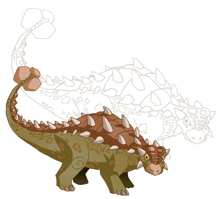 Ankylosaurus by PoF-28
