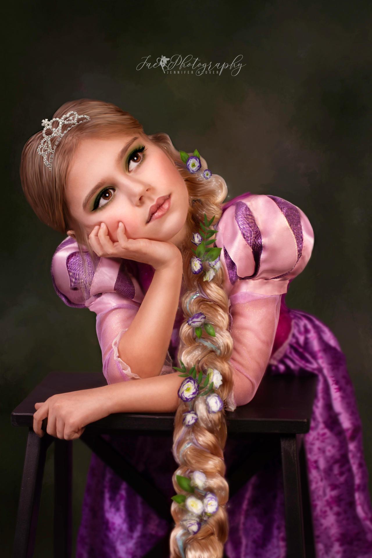 Rapunzel's Portrait