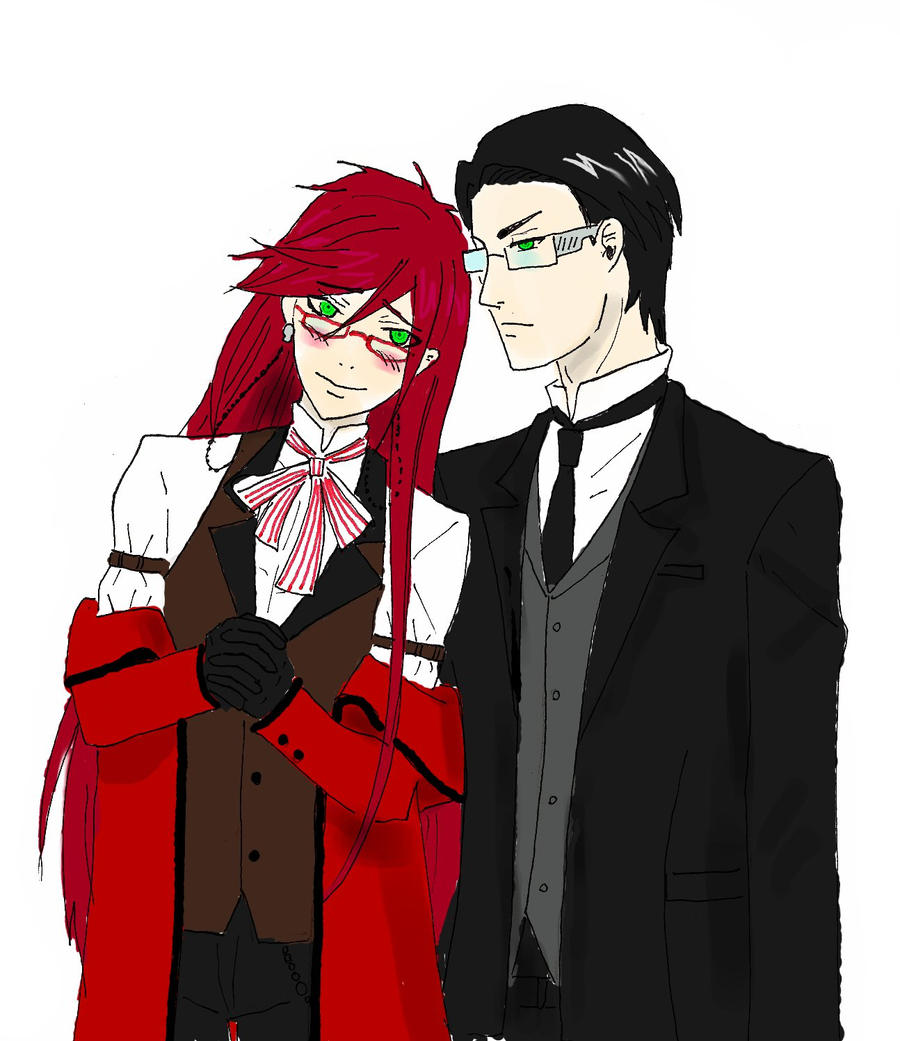 William and Grell by anko86