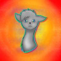 Draw of Sahid my Furry Oc
