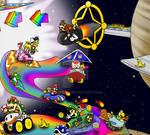Mario Kart 7: Sobre la Senda Arco Iris