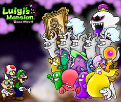 Luigi's Mansion Dark Moon Wallpaper by BoxBird