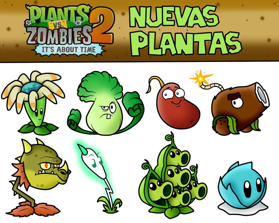 Plants vs Zombies 2 It's About Time New Plants by SuperLakitu