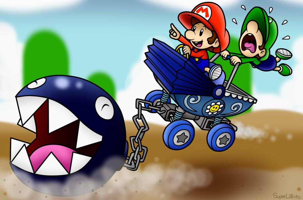 Image - Blue Chain Chomp Art.png   Fantendo - Nintendo Fanon Wiki ...