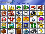 Mario Kart 8: My Items List